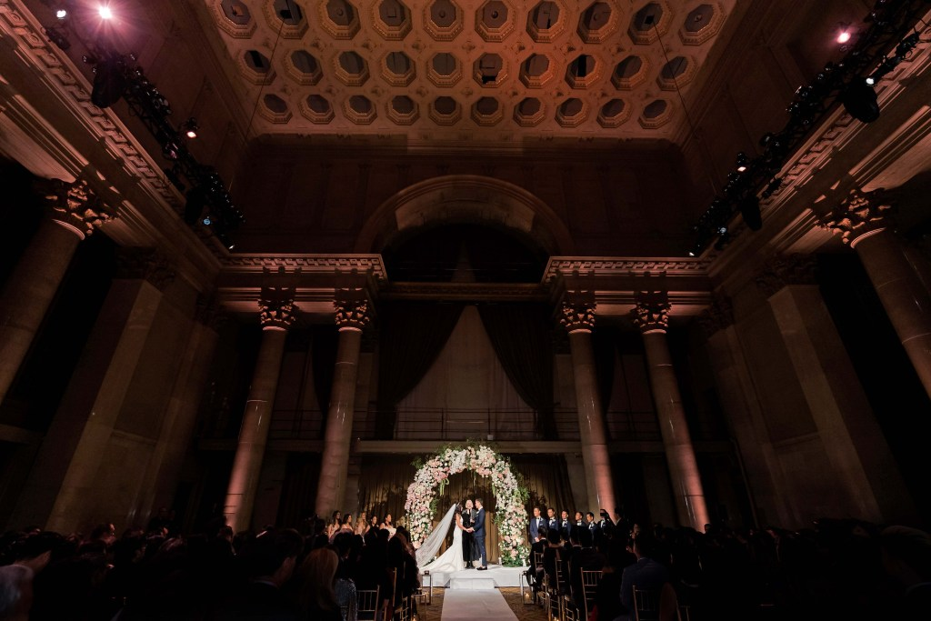 Choosing a wedding venue that is right for your wedding.