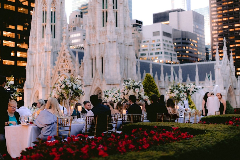 sunset dining ambiance at 620 loft and garden