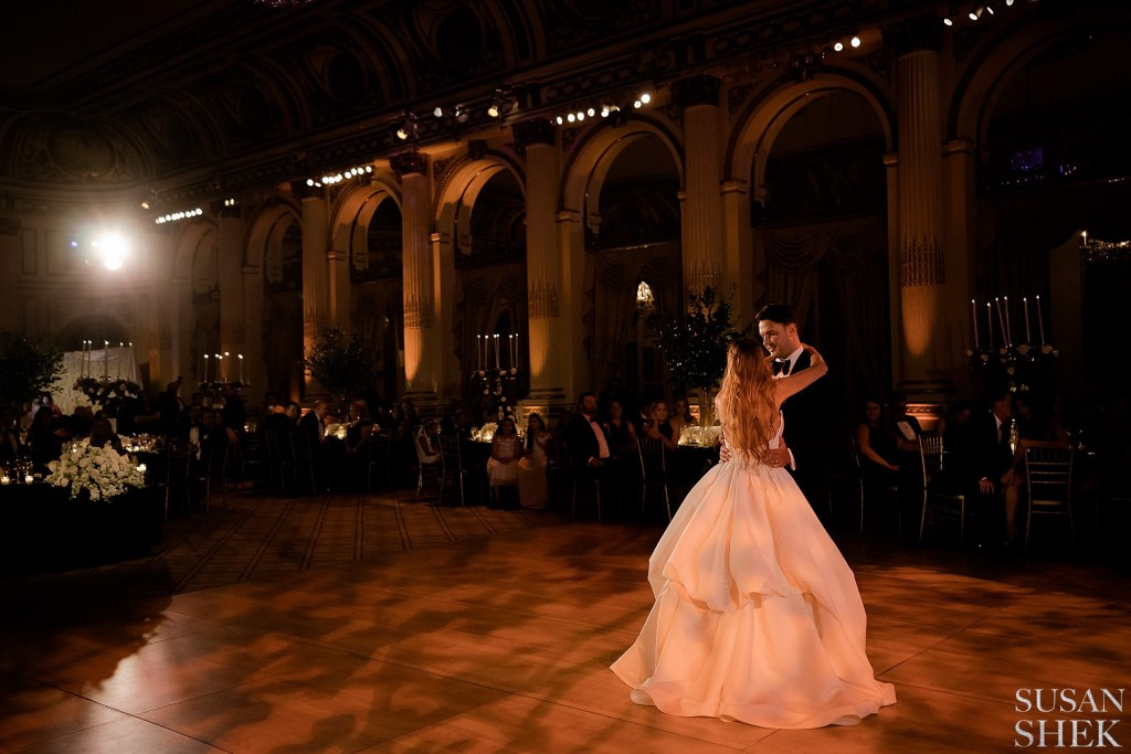 First Dance at The Plaza Hotel Ballroom