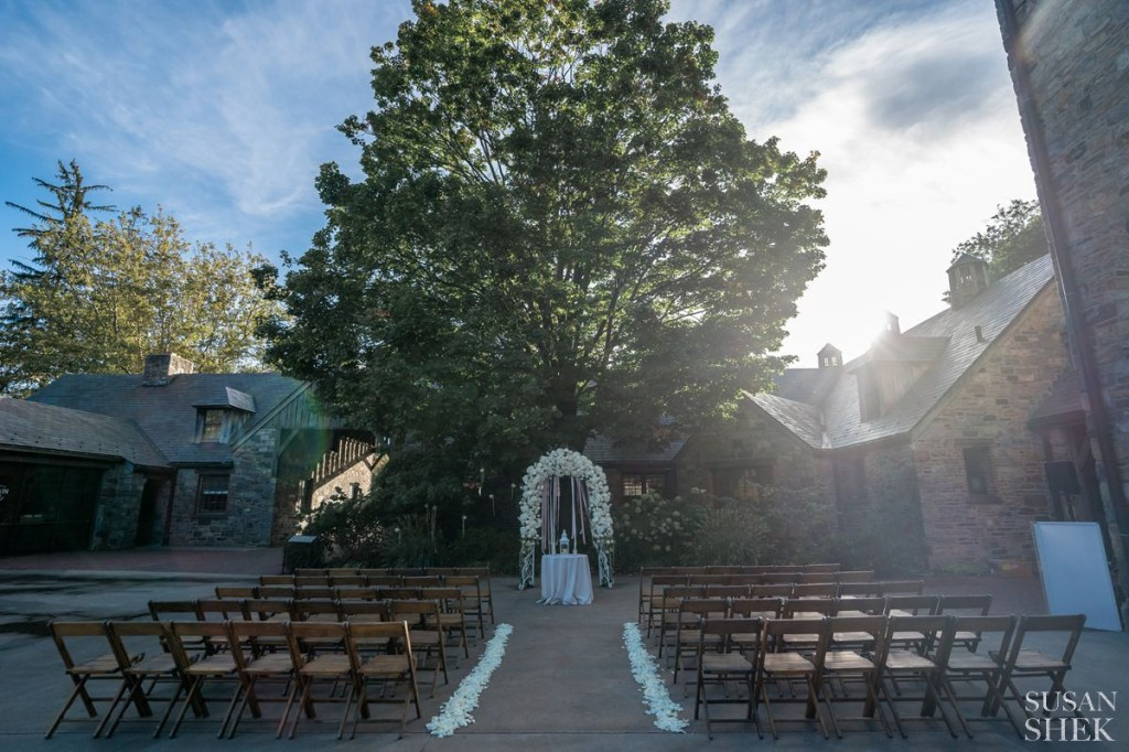 the ceremony photo of blue hill stone barns