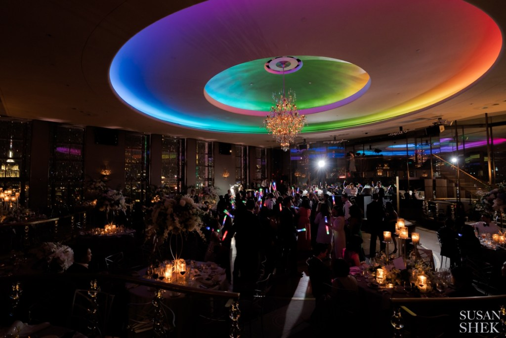 rainbow room wedding by susan shek photography