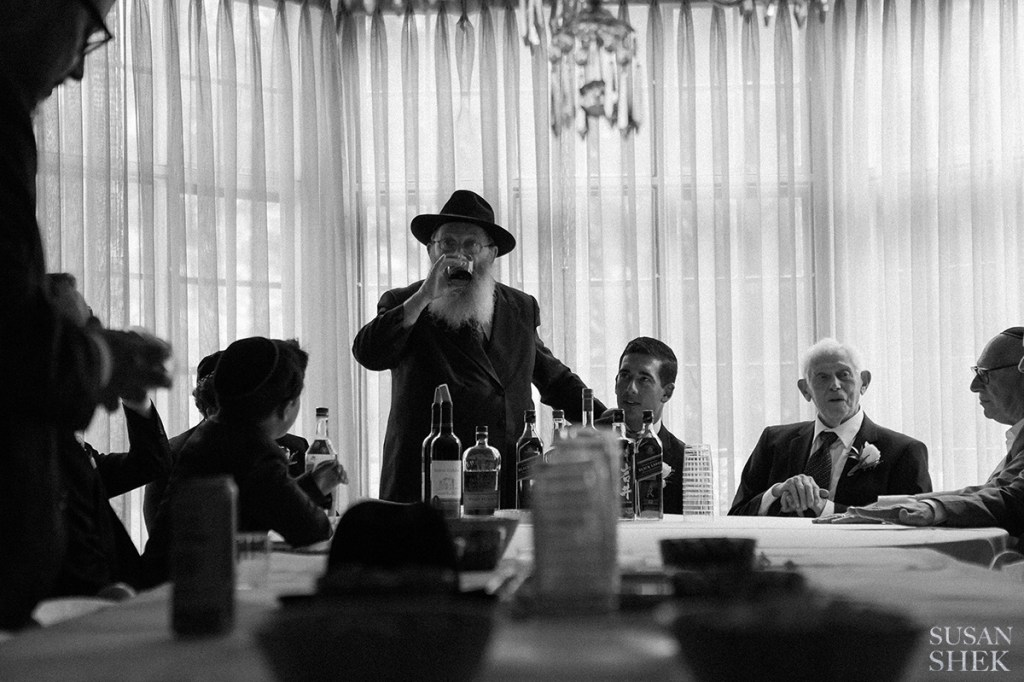 Tisch is a big part of orthodox jewish wedding traditions and traditional ones