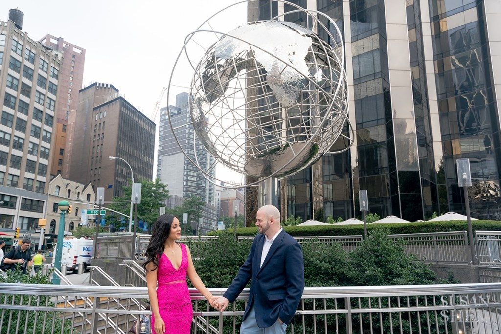 Columbus Circle Engagement Session