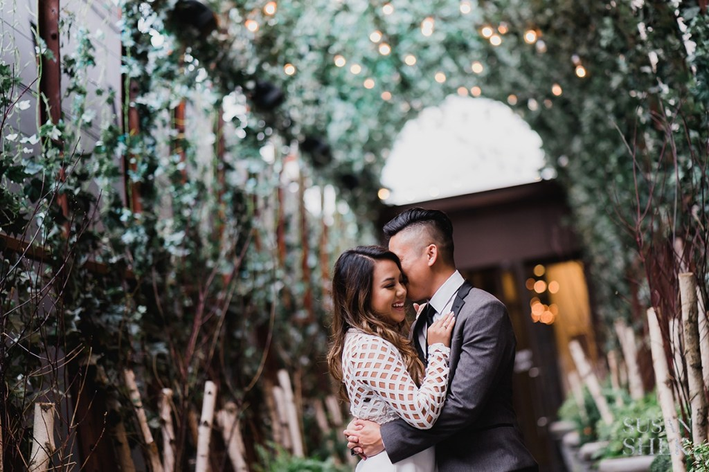 Engagement Photos at Nomo Soho Hotel