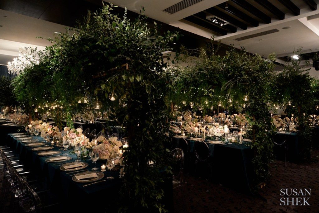greenery as one of the top 2020 wedding trends