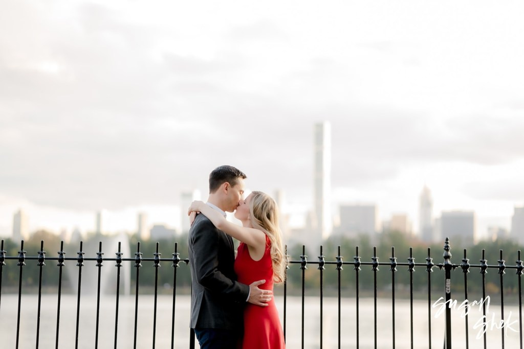 Central Park Reservoir Engagement Shoot, NYC Engagement Photographer, Engagement Session, Engagement Photography, Engagement Photographer, NYC Wedding Photographer