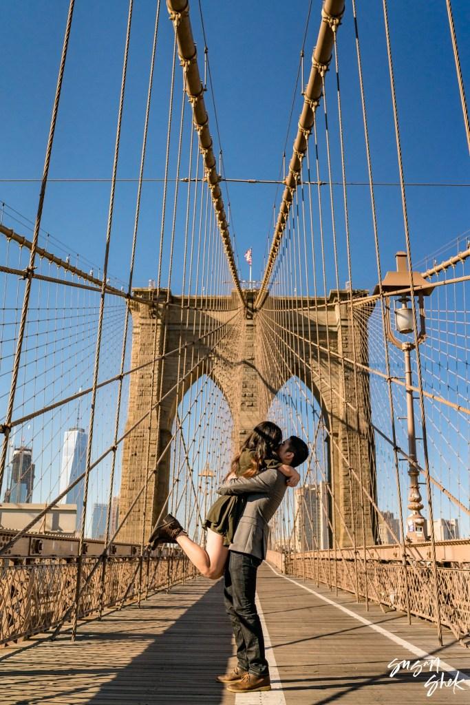 brooklyn bridge Engagement Shoot, NYC Engagement Photographer, Engagement Session, Engagement Photography, Engagement Photographer, NYC Wedding Photographer