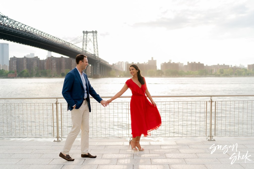 Domino Park engagement shoot, Engagement Shoot, NYC Engagement Photographer, Engagement Session, Engagement Photography, Engagement Photographer, NYC Wedding Photographer