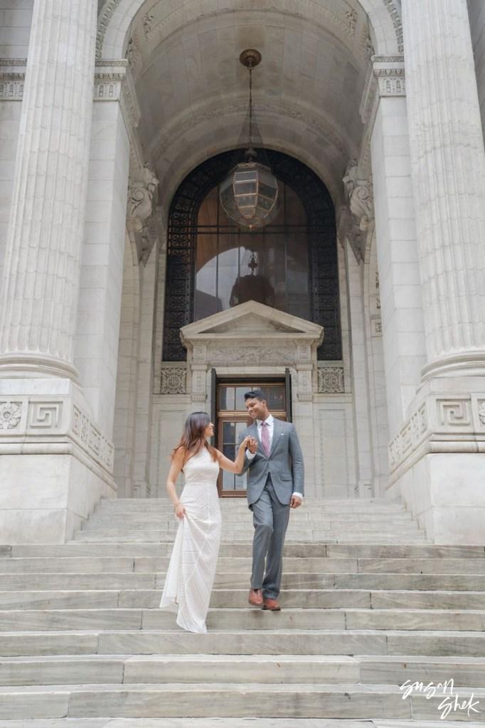 NY Public Library Engagement Shoot, NYC Engagement Photographer, Engagement Session, Engagement Photography, Engagement Photographer, NYC Wedding Photographer