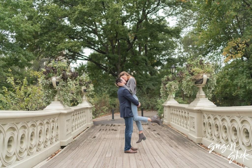 Bow Bridge Engagement, Engagement Shoot, NYC Engagement Photographer, Engagement Session, Engagement Photography, Engagement Photographer, NYC Wedding Photographer