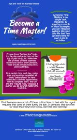 Infographic 18 - Become a Time Master
