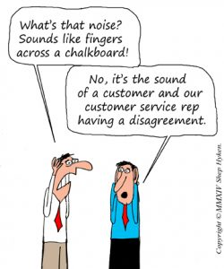 Customer service without friction