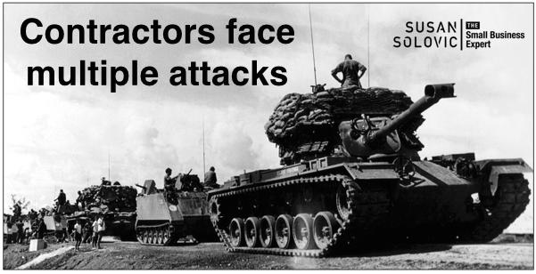 contractors under attack