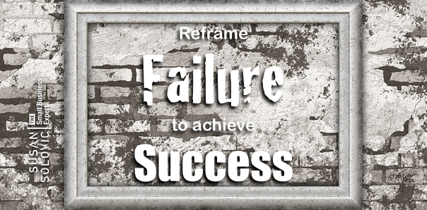 reframe failure to achieve small business sales success