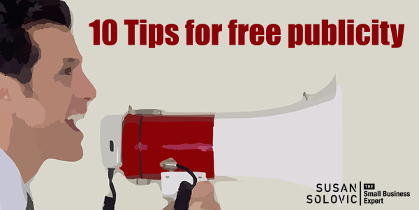 10 tips for small business free publicity