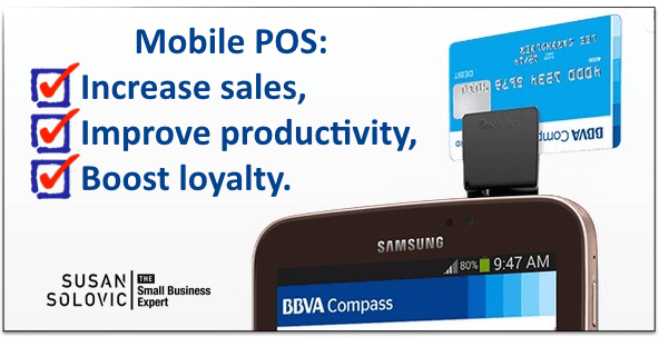 Boost small business sales with mobile POS