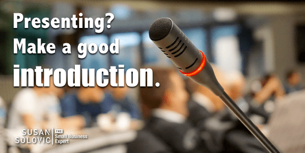 6 Tips for Introducing Yourself at the Start of Your Presentation ...