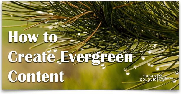 how to create evergreen content