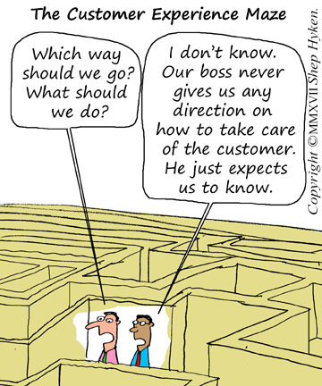 customer-experience-maze