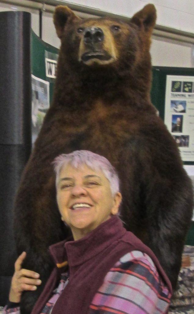 Susa with Bear