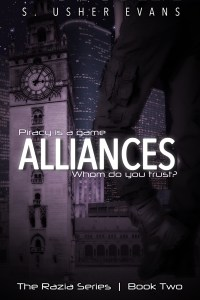 Alliances, the second book in a space opera featuring a space pirate bounty hunters, is now available from Sun's Golden Ray Publishing