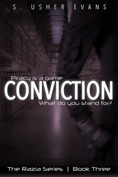 Conviction, the third book in a space opera featuring a space pirate bounty hunters, is now available from Sun's Golden Ray Publishing