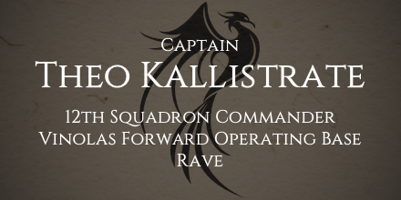 Captain Theo Kallistrate