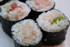 Yellowtail and Scallion Roll Recipe