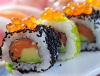 Maki Sushi (maki-zushi or norimaki)