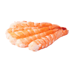 Sashimi de camarón