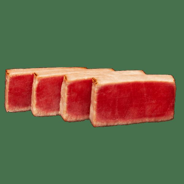 Tataki de atún en aceite de sésamo