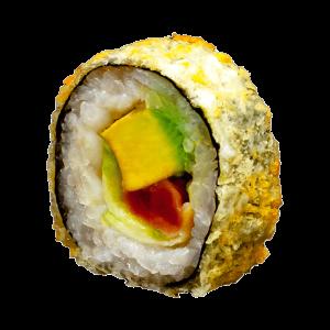 Maki tempura atún spicy