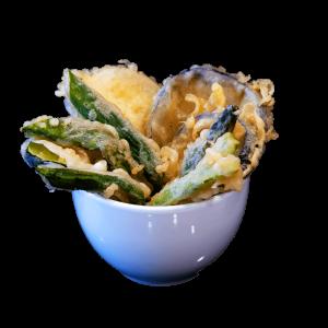 Tempura de vegetales