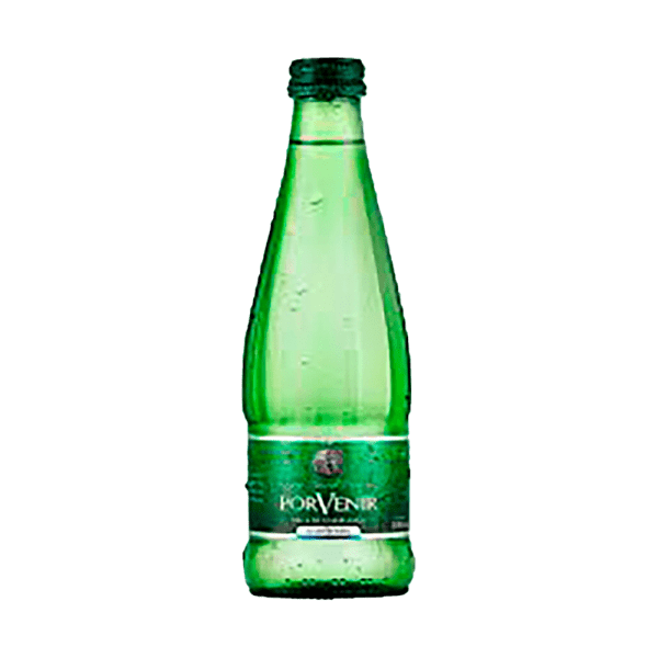 Agua mineral Porvenir con gas 350 cc