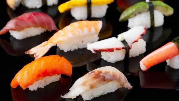Sushi gourmet en Vitacura