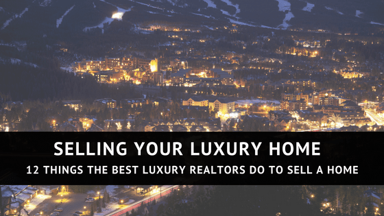 When You Are Selling Your Luxury Home, There Are Certain Nuances To The  Listing Process That May Not Be Present When Selling A More Traditional Home .