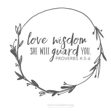 dear daughter ~ love wisdom