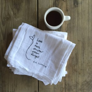 love is more thicker flour sack towel