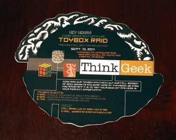 ThinkGeek Invitation
