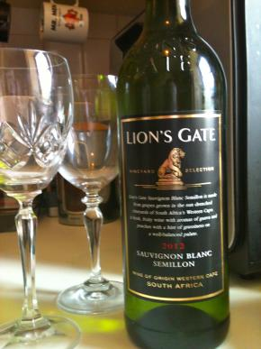 Review: Lion's Gate Sauvignon Blanc Semillion