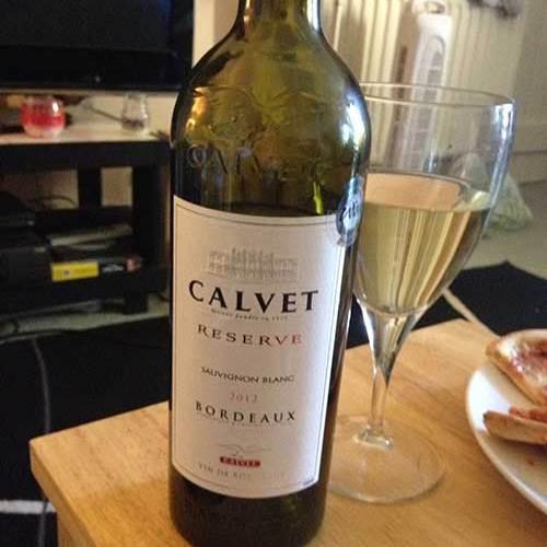 Calvet Reserve Sauvignon Blanc 2012
