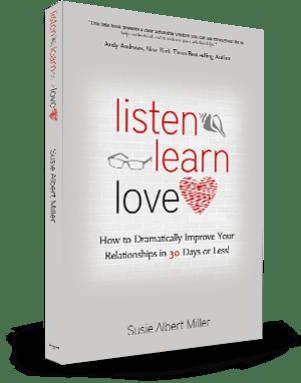 Listen Learn Love book