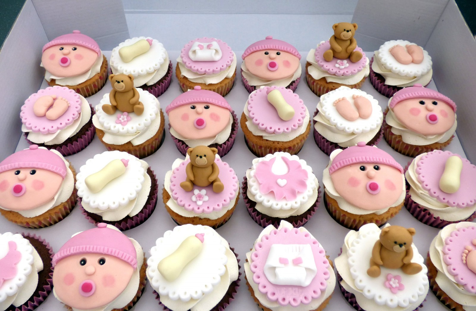 Baby Shower Christening Cupcakes For A Girl Susie S Cakes