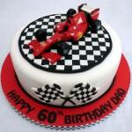 Ferrari F1 Racing Car Birthday Cake Topper Susie S Cakes