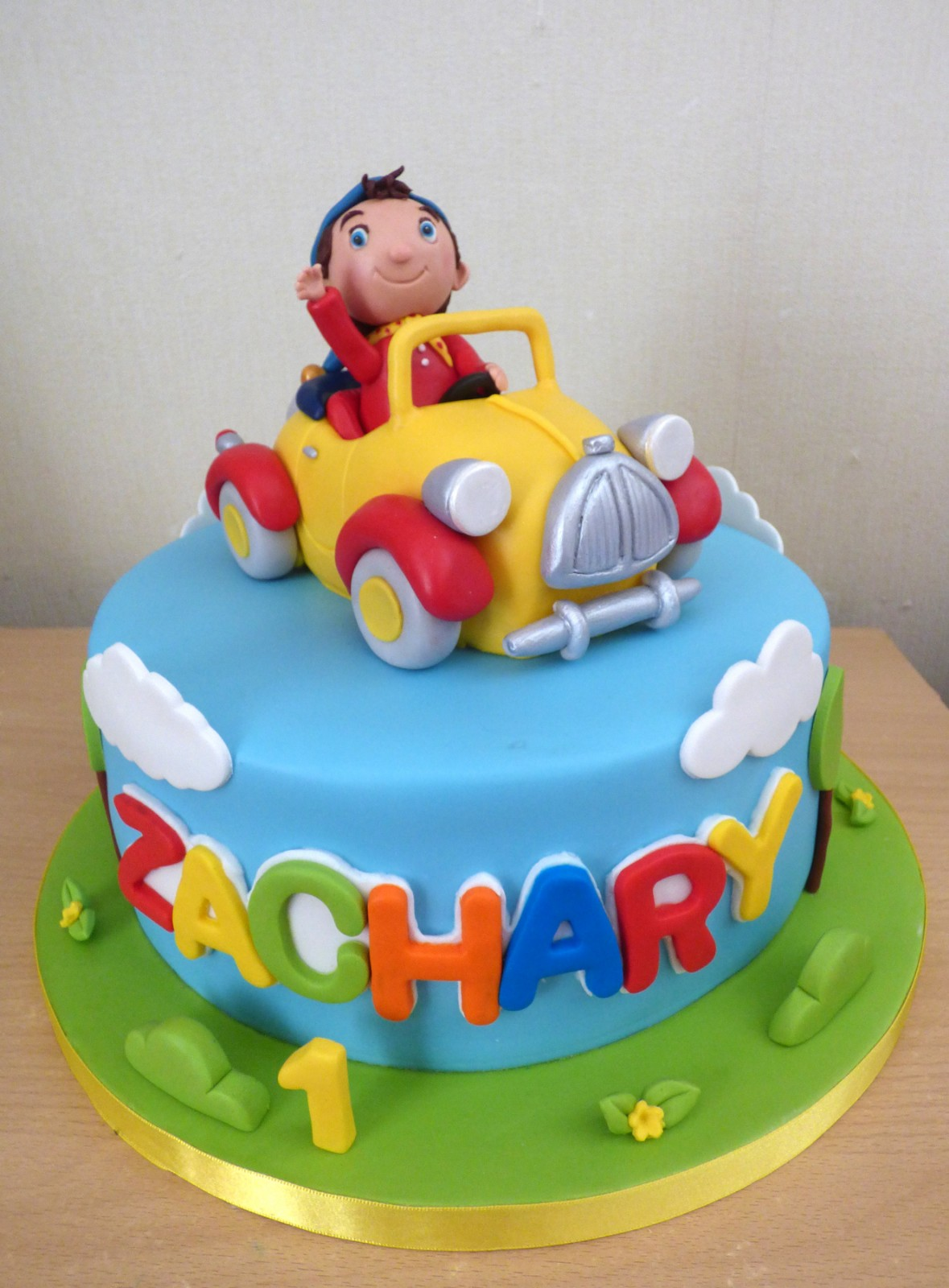 Noddy In His Car Birthday Cake Susie S Cakes