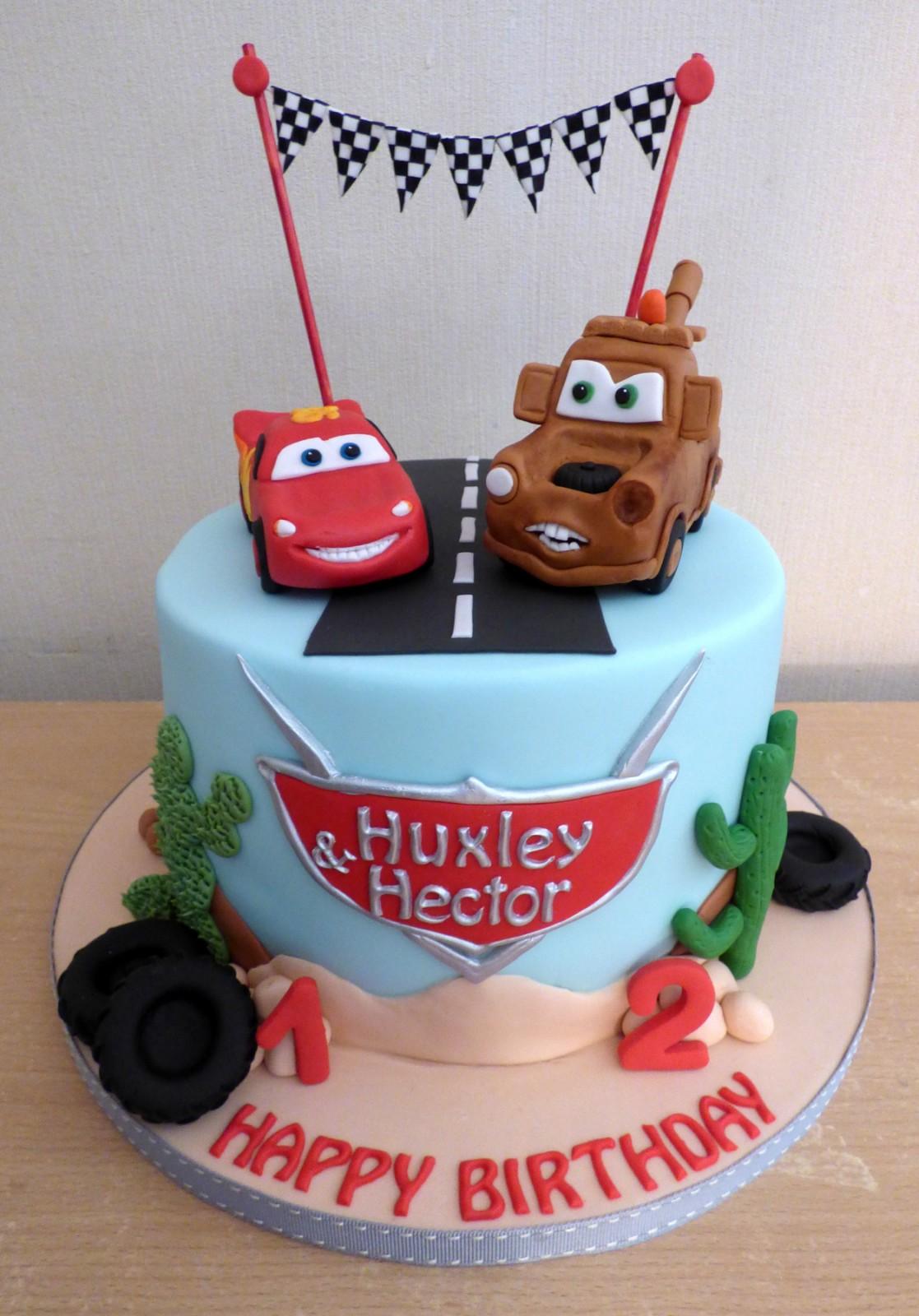 Disney Pixar Cars Themed Birthday Cake Susie S Cakes
