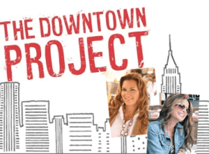 Alana, left, with Jill Brack: Co-founders of The Downtown Project