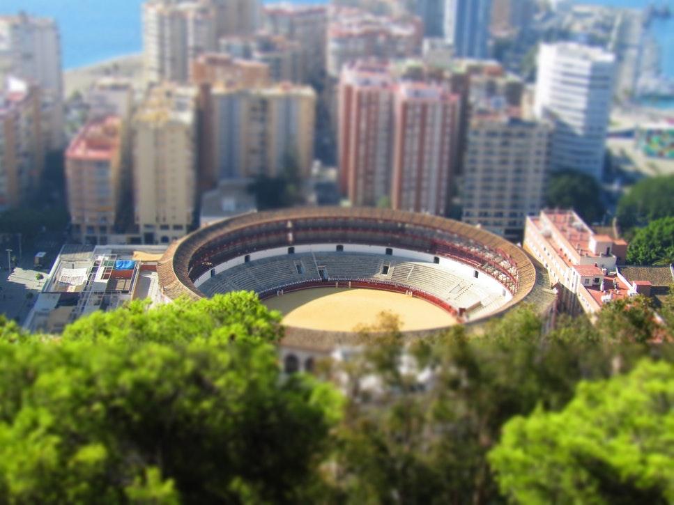 Sightseeing Malaga Spain