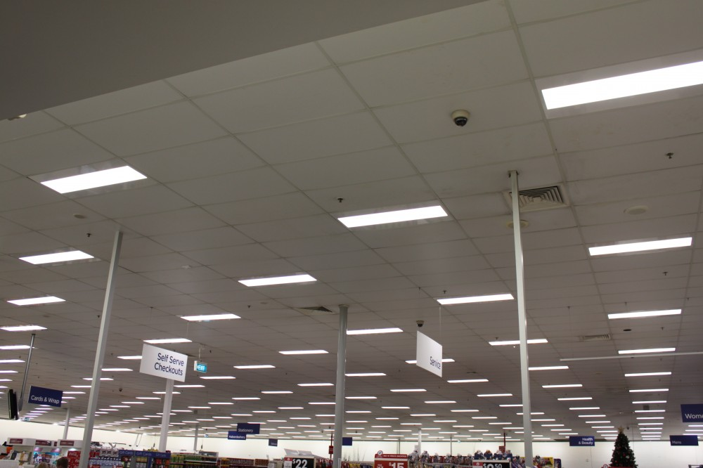 Another quality suspended ceiling in Gympie