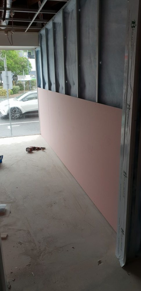 Sound rated partition wall system